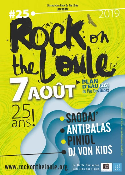 ROCK ON THE L'OULE #25 À LA MOTTE CHALANCON